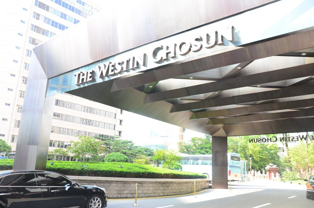 Westin(ウェスティン)朝鮮ホテル@明洞