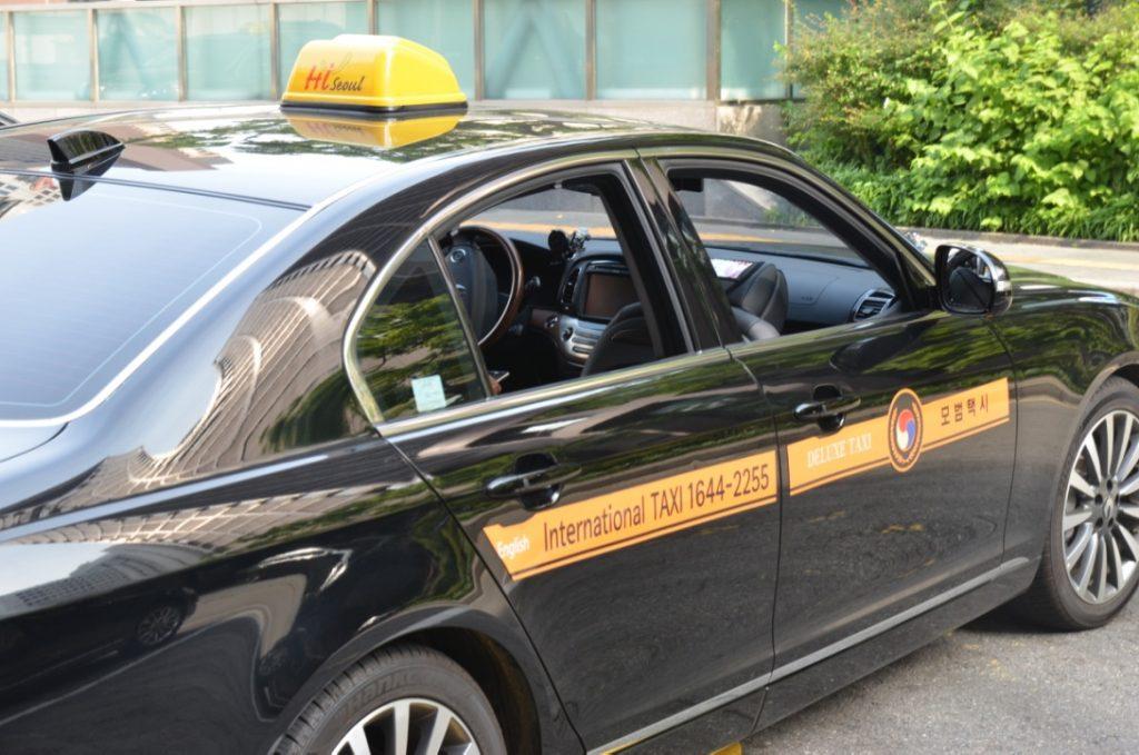 韓国タクシーの要注意