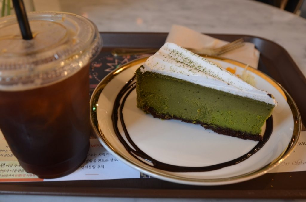カロスキルにあるチーズケーキカフェ C27