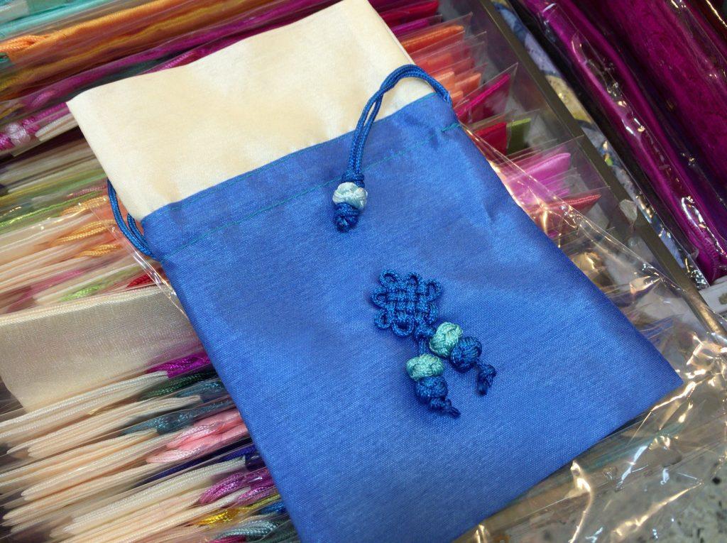 南大門市場のポジャギや布、韓服の布