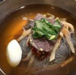 エイの刺身冷麺、オジャンドン ハムン ネンミョン (五壮洞 咸興冷麺)