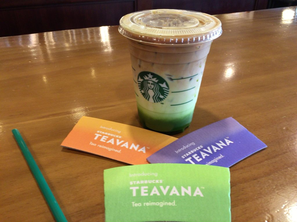 韓国のスタバの紅茶、TEAVANA(ティーバナ)
