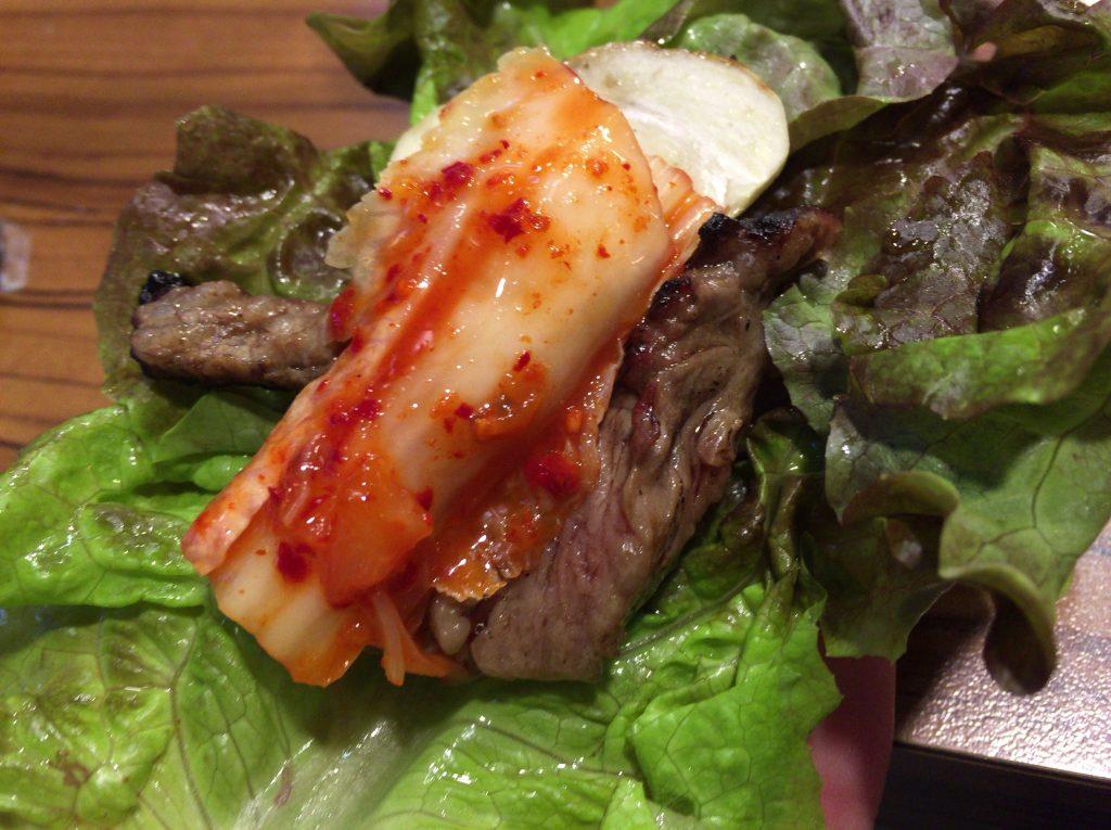 韓国旅行のグルメ、肉ファクトリー(コギペクトリー)